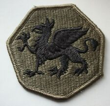 US Army 108th Airborne Infantry Division Subdued Shoulder Patch. (LS)