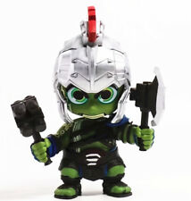 Thor 3 Ragnarok Cartoon Hulk Bobble Head Figure 4 Inches Toy Doll New in Box