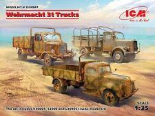 Icm 1 35 Wehrmacht 3t Trucks (v3000s KHD S3000 L3000s)