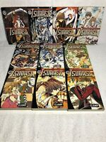 Lot of 10 Tsubasa Reservoir Chronicle by CLAMP- #4-11 & 13-14 Excellent