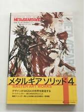 Metal Gear Solid 4 Master Art Works KONAMI Japan Game Setting Material Book