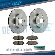 Front Disc Brake Rotors & Ceramic Pads for 2008-2017 ES300h ES350 Avalon Camry