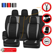 Universal Car Seat Covers TURCK SUV Car Seat Cover Set 50/50 60/40 Split Seat
