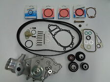 PORSCHE 944 TURBO 951 WATER PUMP KIT NEW URO BRAND W/ BELTS ROLLERS SEALS 1986