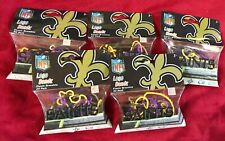 New Orleans Saints NFL Silly BANDZ 20 Bands Per Pack Lot Of 5 Party 100 New!