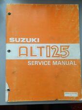 1984 Suzuki ALT125 Factory Service & Supplementary Manual 99500-41020-03E