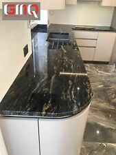 Cosmic Black Granite Kitchen Worktops | All colours available | Sample
