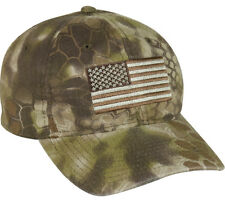 Kryptec HIGHLANDER Camo American Flag Tatical/Military Hat/Cap USA-200 FAST SHIP