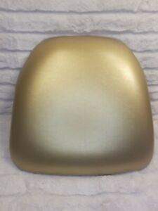 Flash Furniture Hard Gold Vinyl Chiavari Chair Cushion BH-GOLD-HARD-VYL-GG