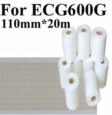 Printing Papter, Thermal Paper Roll For CONTEC ECG600G ECG,110mm*20meters,NEW