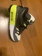 Nike Air Max 90/1 Premium Neon Green Mens Size 7.5 #908366-305 - Pre-Owned