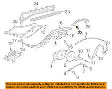 PORSCHE OEM Boxster Motor-Convertible/soft Top-Hinge Plate Lock Nut 99916607502