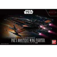 Bandai Star Wars POE'S BOOSTED X-WING FIGHTER 1/72