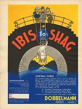 RECLAME VOOR IBIS SHAG 05 - KEES MEYS/WEEKBLAD PANORAMA 1935