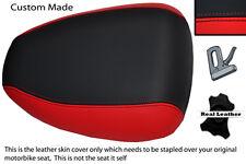 RED AND BLACK 98-02 CUSTOM FITS SUZUKI SV 650 REAR PILLION SEAT COVER