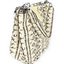 975cfab130d5 Nwt Michael Kors snakeskin python embossed leather chain hobo shoulder bag  new
