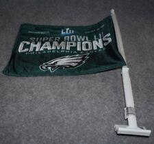 PHILADELPHIA EAGLES  NFL FOOTBALL SPORTS SUPER BOWL 52 CHAMPIONS CAR WINDOW FLAG