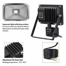 CLY Motion Sensor LED Flood Light900 Lumens Cool White10W Waterproof Outdoor