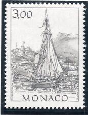 TIMBRE DE MONACO N° 1837 ** / VUES DU VIEUX MONACO / VOILIER