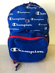NWT Champion Backpack With Attachable Lunch Box Kit Combo Pack