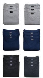 3er Set Herren T Shirts  Basic 1323 auch in Übergrößen