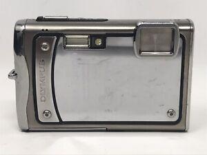 Olympus Stylus Tough 8000 12.0MP Digital Camera Silver - No USB Charger/XD Card