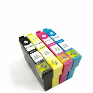 24 x Non-OEM 138 T138 T1381 ink cartridge for Epson Workforce WF 435 845 545 633