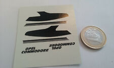 decalcomanie decals deco pour opel commodore gs2.8 cunningham  1/43