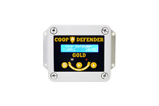 Coop Defender Gold Chicken Coop Door Automatic Opener | Timer and Light Sensor |