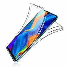 Pour Huawei P30 lite Coque Gel 360 avant+Arrière Protection INTÉGRAL