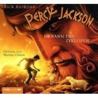 PERCY JACKSON - TEIL 2: IM BANN DES ZYKLOPEN 4 CD NEU