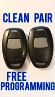 CLEAN LOT PAIR OF 2 AUTOMATE REMOTE START FOB 1 BT TRANSMITTER EZSDEI471H 7111A