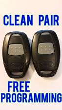 CLEAN LOT PAIR OF 2 AUTOMATE KEYLESS REMOTE FOB TRANSMITTER EZSDEI471H 7111A