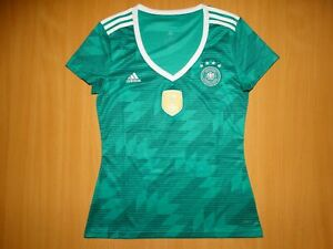 Deutschland GERMANY 2018 2019 Euro trikot shirt jersey soccer AWAY WOMAN M