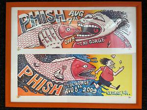 Phish Pollock 2009 Gorge 2 Prints in 1