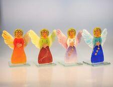 Dekofiguren aus Glas mit Engel-Motiv