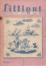 Collectable  Lilliput Magazine  December 1945   Vol 17  No 5  Issue No 101