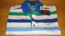Paul & Shark Polo Shirt Unique Size Large SUPERB Quality Fabric Must See WOW