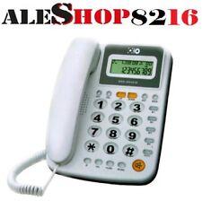 telefono fisso per casa ufficio NEGOZI tasti grandi per anziani display vivavoce