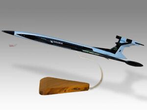 Gerry Anderson Fireflash Mk.6 Mark 6 Solid Mahogany Wood Replica Desktop Model