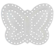 Plastic Canvas 7mesh - Butterfly, 7x5.5cm, pack of 10