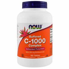 NOWFoods, C-1000 Complex, zeitverzögert, gepuffert, 180 Tabletten