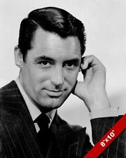 CARY GRANT MOVIE ACTOR HOLLYWOOD STAR PORTRAIT PHOTO PRINT ON REAL CANVAS