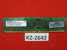 1GB Elpida DDR2-400 PC2-3200R 1Rx4 EBE10RD4AEFA-4A-E 73P2870 345113-051 #KZ-2642