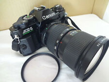 Canon AE-1 Program FD 35-105/3.5 lens,filter,strap from Japan Ex++++ con. 2614