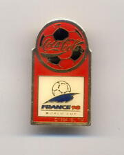 FRANCE 1998 Soccer World Cup pin badge COCA COLA