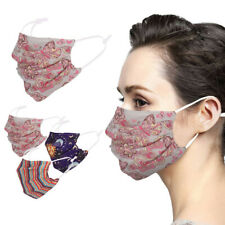 Fashion Floral Face Mask Soft Adult Unisex Washable Reusable Outdoor Protection