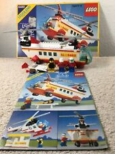 Lego Vintage Town 6482 Light And Sound Rescue Helicopter