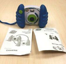 Discovery Kids Digital Camera Blue Swirl Photo/ Video 2009 USB Compatible