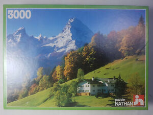 Puzzle 3000 Piéces Alpage Nathan